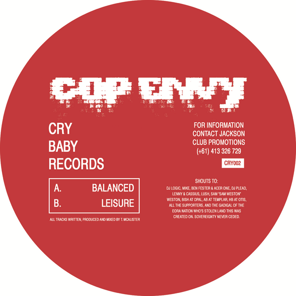 Cop Envy - Balanced / Leisure