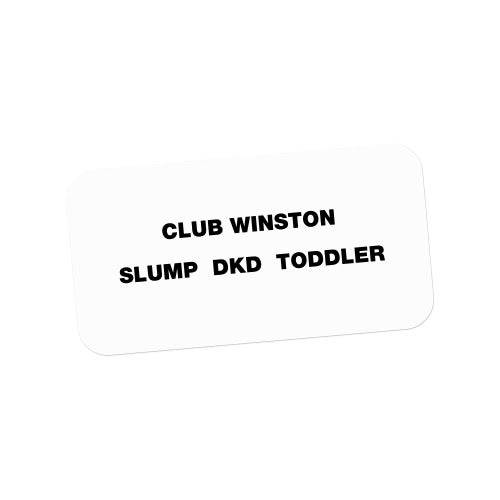 Club Winston - SLUMP DKD TODDLER