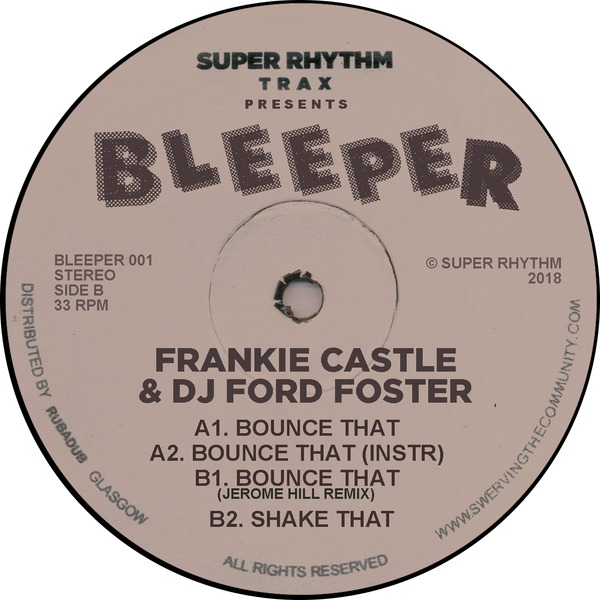 Frankie Castle & DJ Ford Foster - Bounce That
