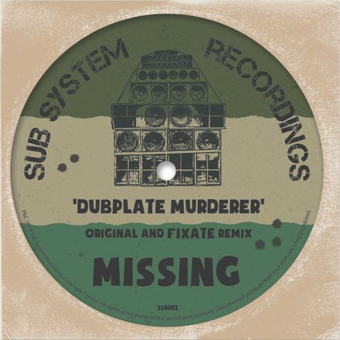 Missing & Mr Time - Tings a Run / X Amount A Dubs