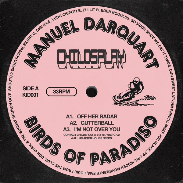 Manuel Darquart - Birds Of Paradiso