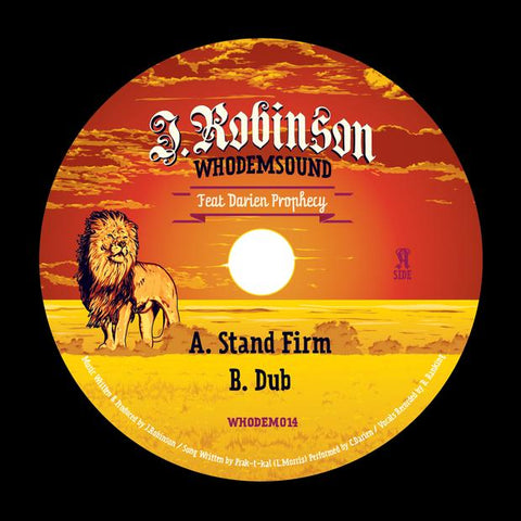 J.Robinson ft Darien Prophecy - Stand Firm / Stand Firm Dub