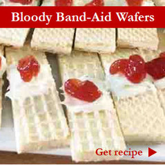 Bloody Band-Aid Wafers Recipe