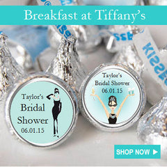 Breakfast at Divas Tiffanys Party Favors and Invitations