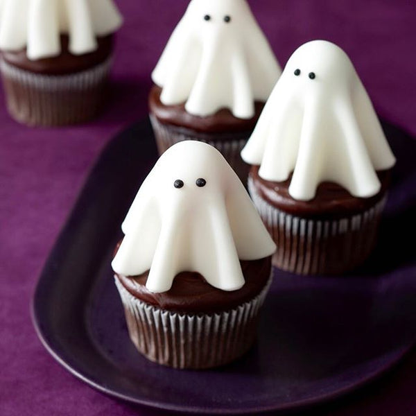 Halloween Spooky Ghost Cupcakes Recipe