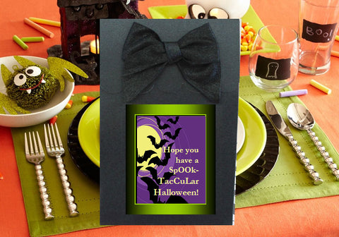 Halloween Party Black Candy Shoppe Boxes Bags