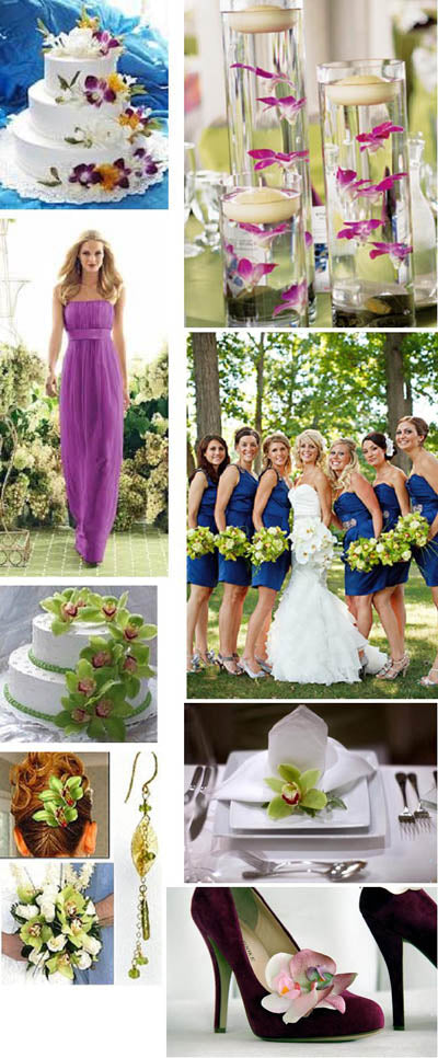 Orchid Wedding Inspiration and Ideas
