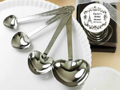 Paris French Eiffel Tower Heart Measuring Spoons