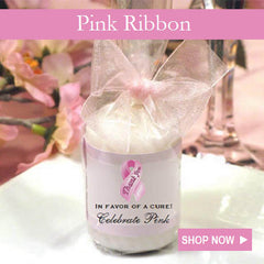 Think Wear Celebrate Pink Ribbon Breast Cancer favors