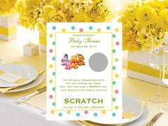 personalized Winnie the Pooh baby favors