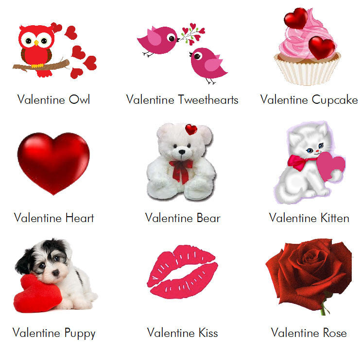 Valentine\'s Day Party Invitations Announcements – Pavia Party Favors
