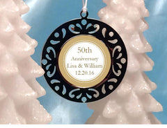 Anniversary Party Gift Holiday Metal Bookmark Ornament Favors Gift