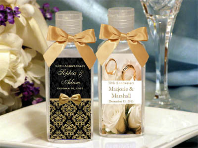 Anniversary Party Gift Hand Sanitizer Favors