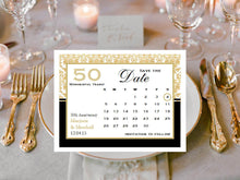 Anniversary Save the Date Cards Notes