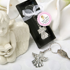 Baptism Christening Gifts Photo Angel Key Chain Favors