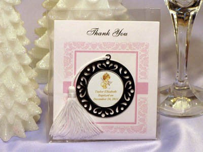 Baptism Christening Gifts Photo Party Metal Bookmarks Ornaments Favors