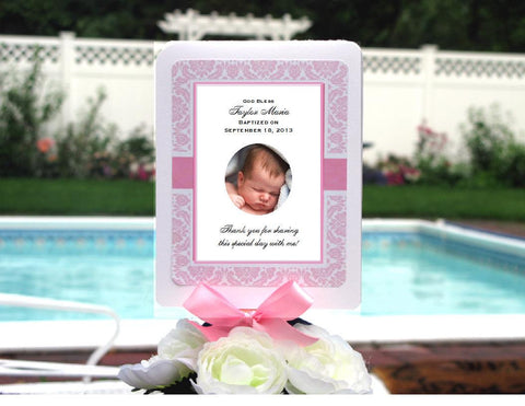 Baptism Christening Gifts Photo Party Favor Hand Fans