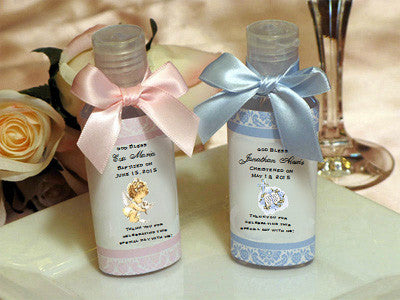 Baptism Christening Gifts Photo Party Hand Sanitizers Favors