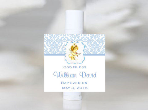 Baptism Christening Gifts Photo Lip Balm Favors