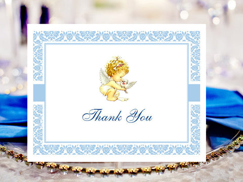 Baptism Christening Photo Thank You Cards Notes