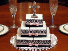 Communion Confirmation Damask 29 Rosary Favor Cake Centerpiece