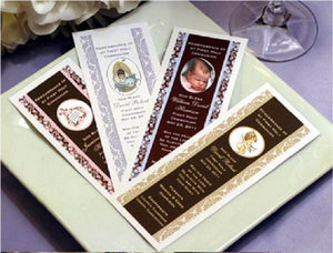 Baptism Christening Gifts Photo Party Bookmarks Favors