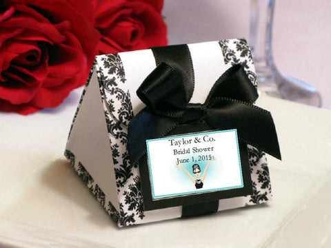 Breakfast at Diva's Bridal Shower Origami Favor Boxes