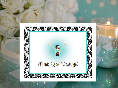 Breakfast at Diva's Thank You Cards Notes