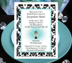 Breakfast at Diva's Invitations Announcements