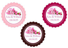 Cherry Blossom Wedding Bridal Cupcake Toppers Decorations