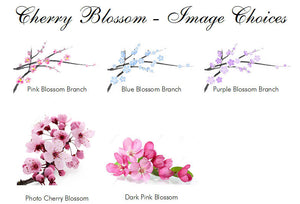 Cherry Blossom Envelope Seals Stickers Labels