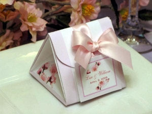Cherry Blossom Wedding Bridal Baby Origami Favor Boxes