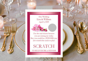 Cherry Blossom Scratch Win Games Tickets Cards