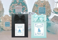 CINDERELLA PARTY WEDDING Slipper Candy Shoppe Favor Boxes Bags