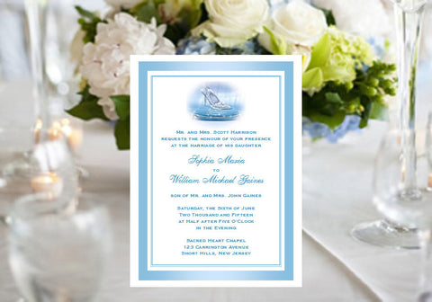 Cinderella Wedding Royal Ball Party Invitations Announcements