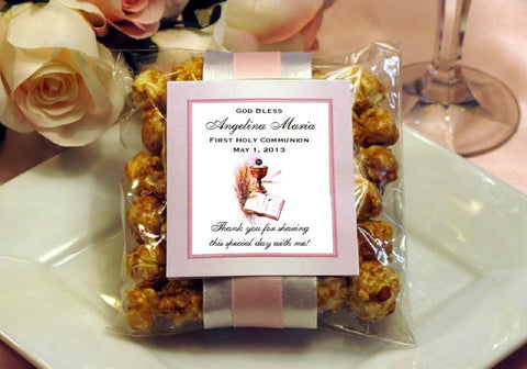 Communion Confirmation Party Caramel Corn Favors