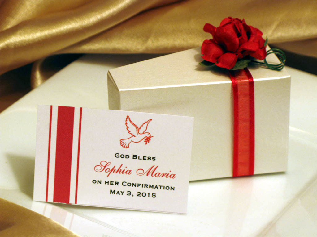 Communion Confirmation Red Dove Embossed Favor Cake Centerpiece - 42 ...
