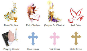 Communion Confirmation Red Dove Wine Bottle Labels Stickers