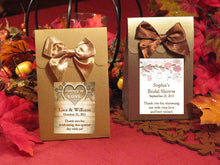 Country Fall Rustic Wedding Autumn Candy Shoppe Boxes
