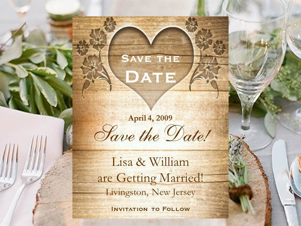 country fall rustic wedding save the date cards notes pavia party