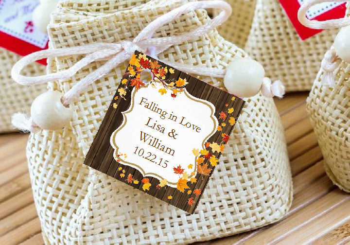 Country Rustic Wedding Ideas Favor Gift Tags