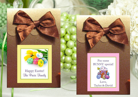 Easter Egg Bunny Basket BROWN Candy Shoppe Boxes