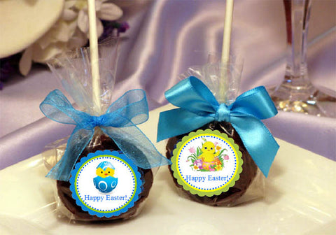 Easter Egg Bunny Basket Brownie Pops Favors