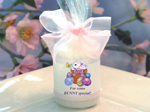 Easter Egg Bunny Basket DIY Candle Votive Party Favor