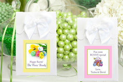 Easter Egg Bunny Basket WHITE Candy Shoppe Boxes