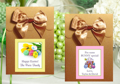 Easter Egg Bunny Basket GOLD Candy Shoppe Boxes