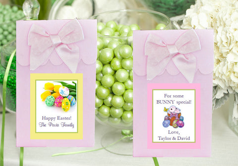 Easter Egg Bunny Basket PINK Candy Shoppe Boxes