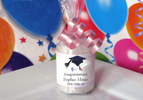 Graduation Party Candle Votive Favors