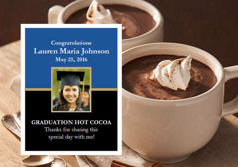 Graduation Party Hot Chocolate Cocoa Favors
