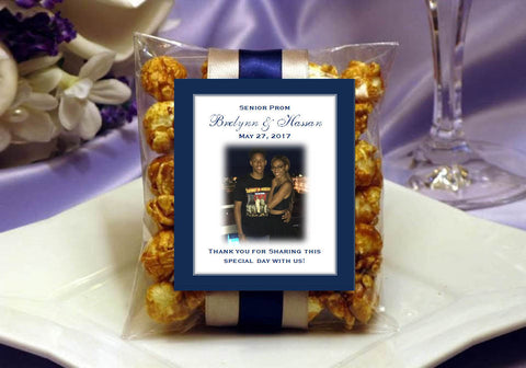 Graduation Prom Party Caramel Corn Favors
